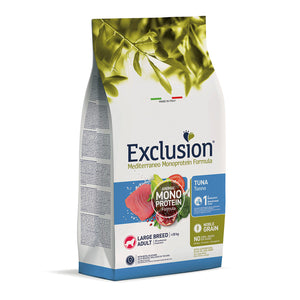 Exclusion Dog - MEDITERRANEAN Monoprotein - Adult Large Tuna