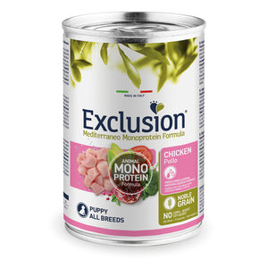 Exclusion Dog - MEDITERRANEAN Monoprotein - Puppy All Breeds Chicken