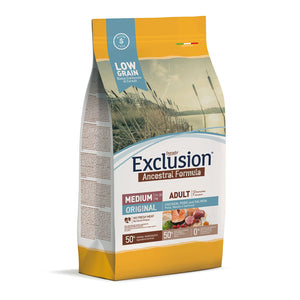 Exclusion Dog - ANCESTRAL Lowgrain - Adult Medium ORIGINAL