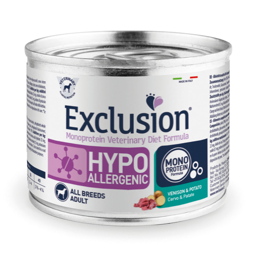 Exclusion Dog VET - HYPOALLERGENIC -Adult All Breeds Venison