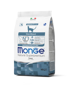 Monge Cat - Monoprotein Sterilised Trout