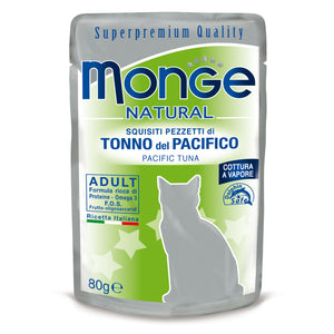 Monge Natural Cat - Pacific tuna in jelly