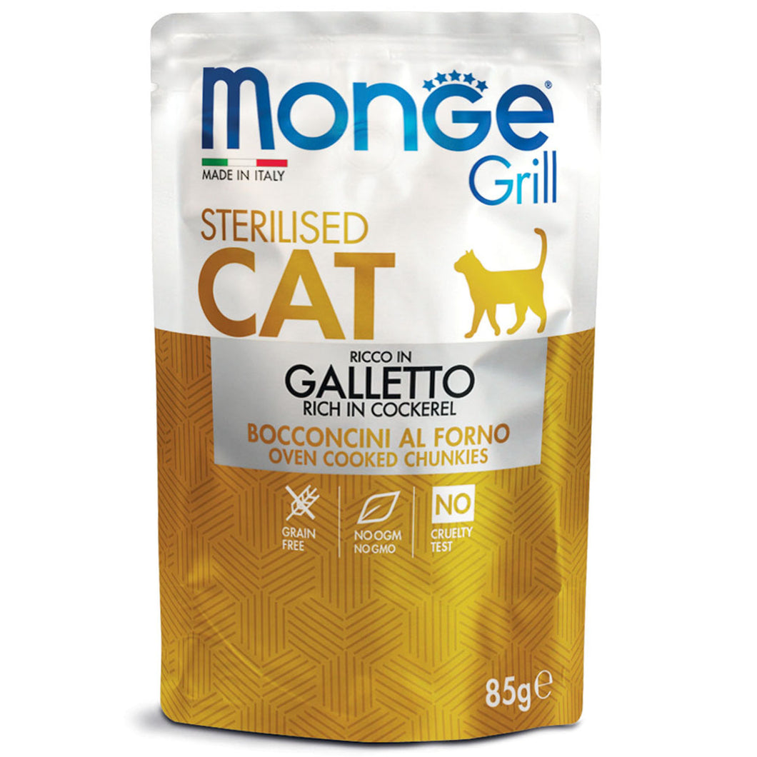 Monge Grill Cat - Sterilised Cockerel