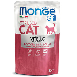 Monge Grill Cat - Sterilised Veal