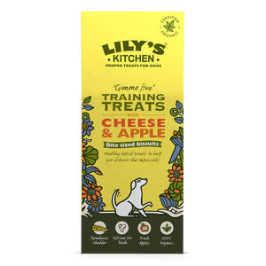 Lily's Kitchen - Organic Training Treats with Cheese & Apple
