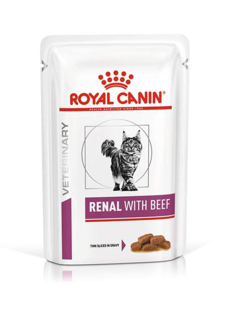 Royal Canin - Renal with Beef (bustine)