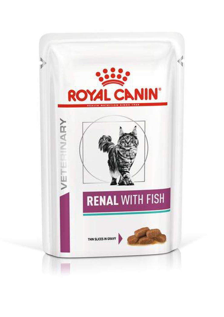Royal Canin - Renal with Fish (bustine)