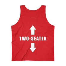 Load image into Gallery viewer, Two Seater - Men's Ultra Cotton Tank Top