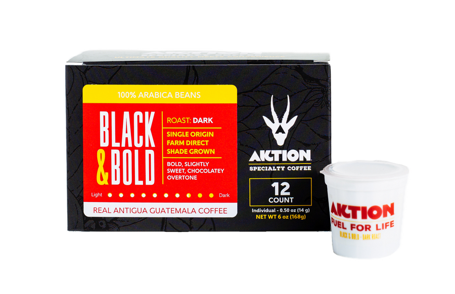 BLACK & BOLD - Dark Roast (24 Cup Value Pack)