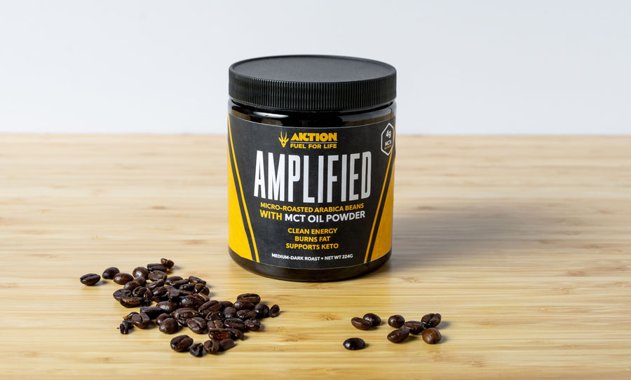 AMPLIFIED Coffee with MCT Oil Powder