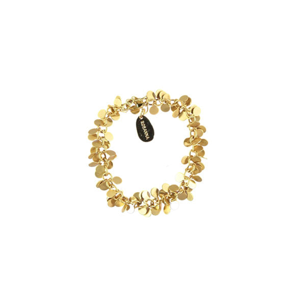 SMALL DISC GOLD BRACELET