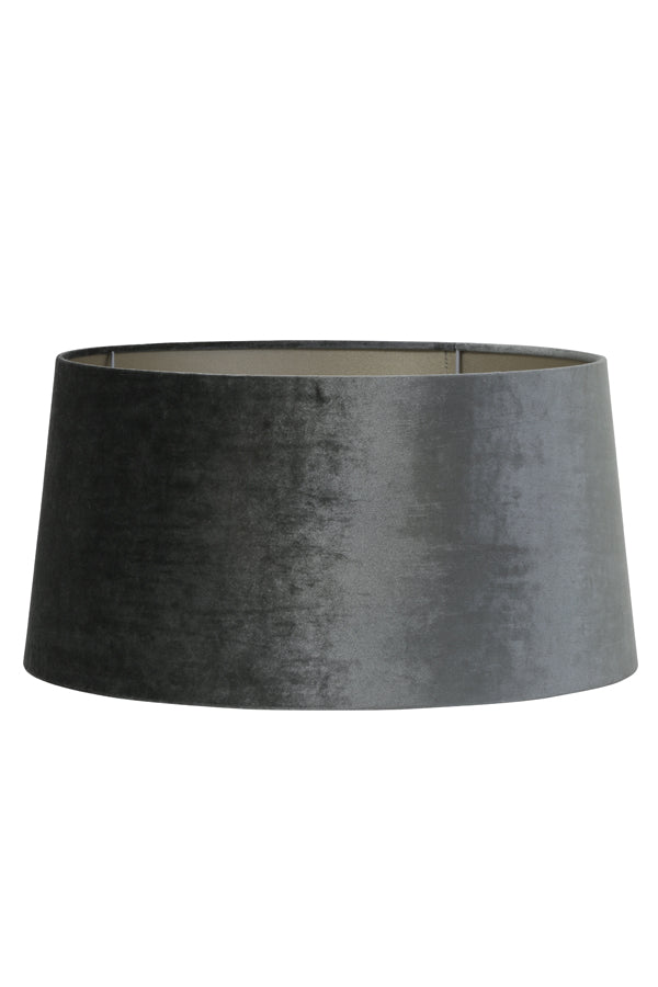 GRAPHITE VELVET DRUM SHADE 45 20 22.5