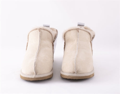 Annie Sheepskin Ladies Slippers - Honey