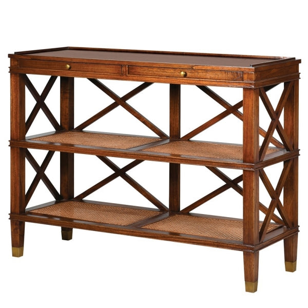 CAMPAIGN STYLE BUFFET/CONSOLE TABLE