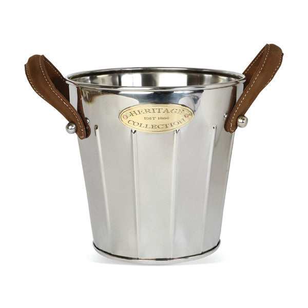 HERITAGE LEATHER HANDLES WINE COOLER