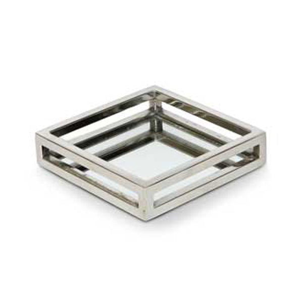 SQUARE MIRROR CUT OUT TRAY (SMALL)