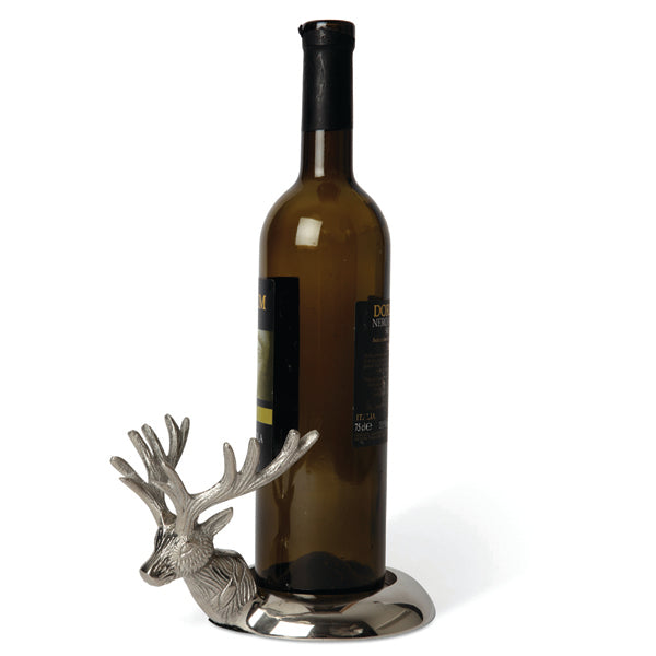 STAG HEAD BOTTLE STAND