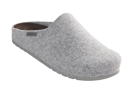 Isabell Ladies Wool Slippers - Grey