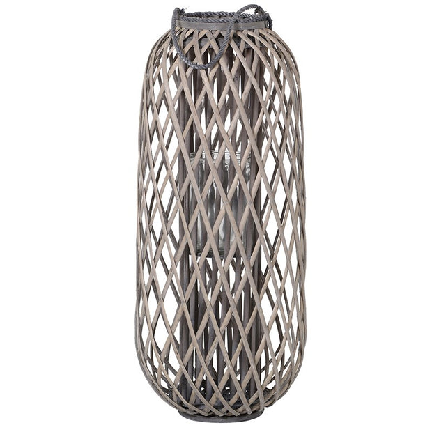 Natural Willow Lantern (Large)