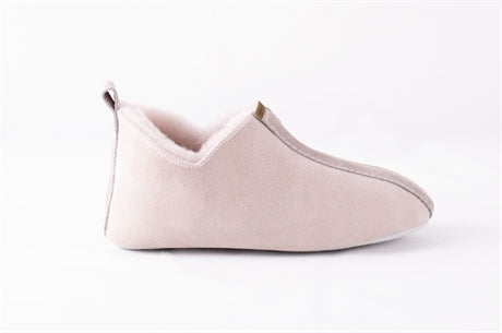 Viared Children's Sheepskin Slippers - Pale Pink