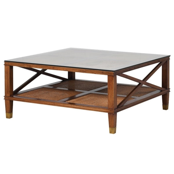 CAMPAIGN STYLE COFFEE TABLE