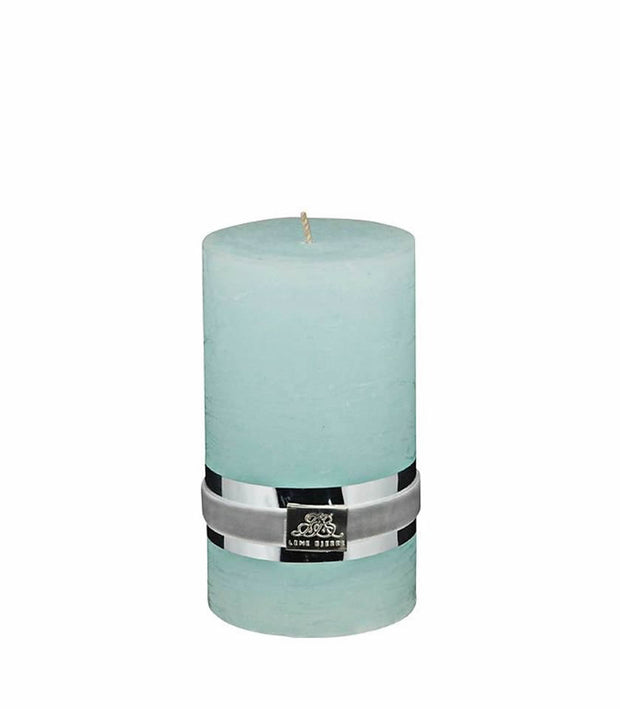 RUSTIC POWDER PINK CANDLE (SMALL)