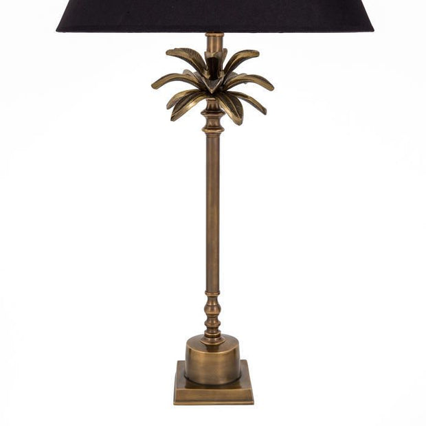 CEYLON BRASS PALM LAMP BASE 51 15