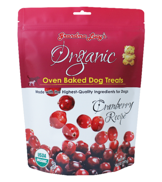 [10% OFF] Grandma Lucy's Organic Oven Baked Cranberry Dog Treats (397g)
