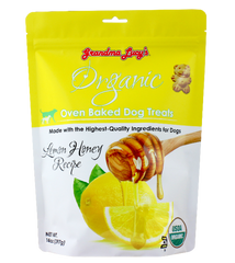 [10% OFF] Grandma Lucy's Organic Oven Baked Honey Lemon Dog Treats (397g)