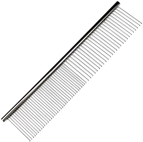 Pet Grooming Silver Comb