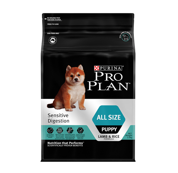 [20%] Pro Plan Sensitive Digestion - All Size Puppy Dry Dog Food (2.5kg)