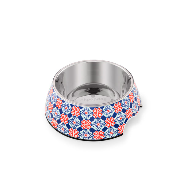 Ohpopdog Non-slip Bowl - Heritage Royal Blue