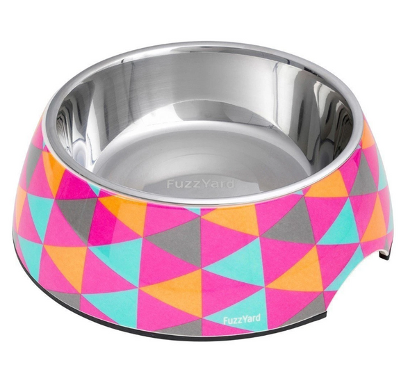 FuzzYard Crush Melamine Dog Feeding Bowl