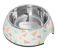 FuzzYard Fab Melamine Dog Feeding Bowl