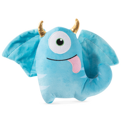 [10% OFF] Blaze the One-Eyed Horned Monster Dog Squeaky Plush Toy