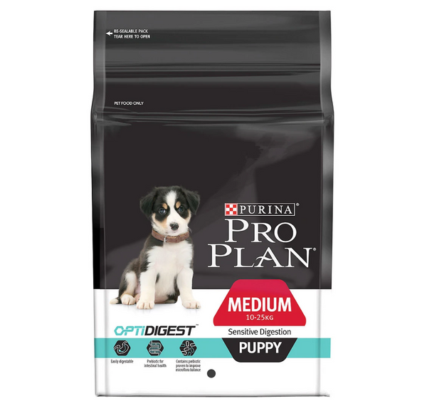 [20% OFF] Pro Plan OptiDigest - Sensitive Digestion Puppy Dry Dog Food (2.5kg)