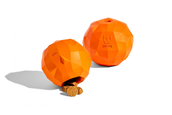 Zee.dog Super Orange Toy