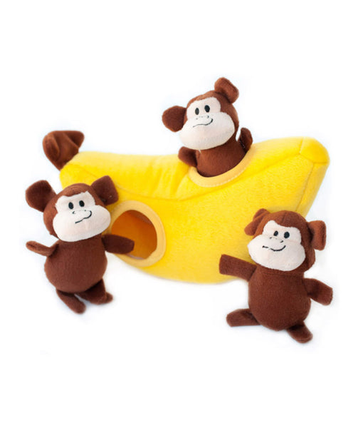 Zippypaws Burrow - Monkey 'n Banana