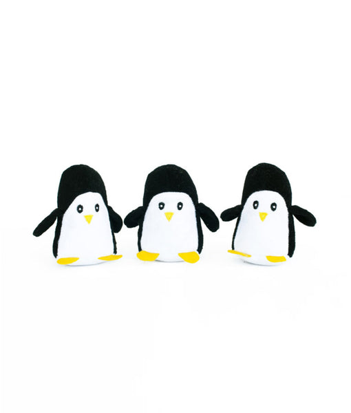 Zippypaws Miniz 3-Pack Penguins