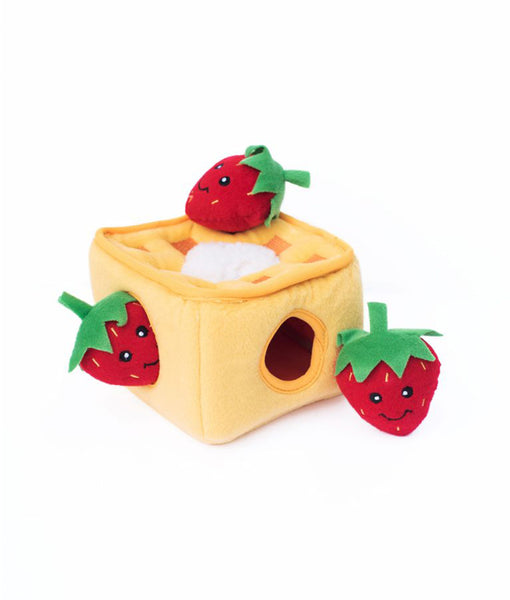 Zippypaws Burrow - Strawberry Waffles
