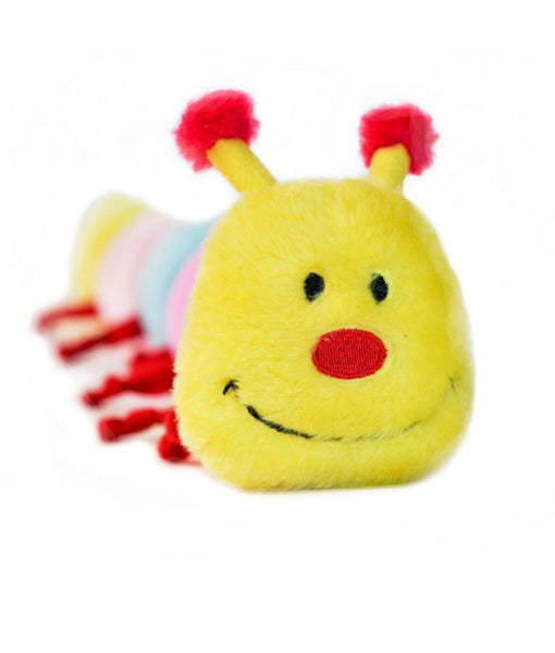 Zippypaws Caterpillar - Large with 6 Squeakers