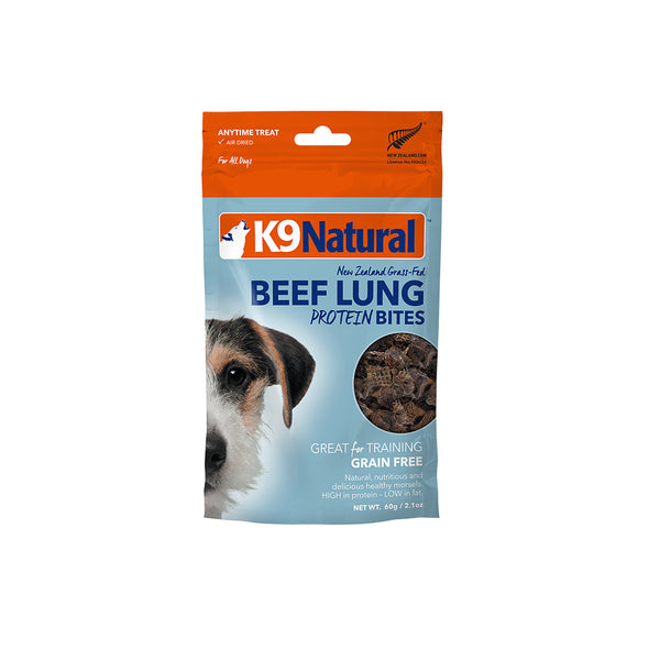 [20% OFF] K9 Natural Beef Lung Protein Bites (60g)