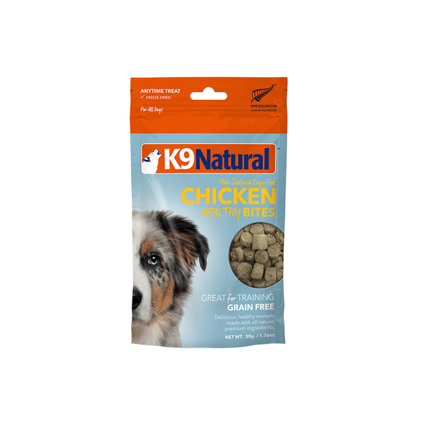 [20% OFF] K9 Natural Freeze Dried Chicken Healthy Bites (50g)