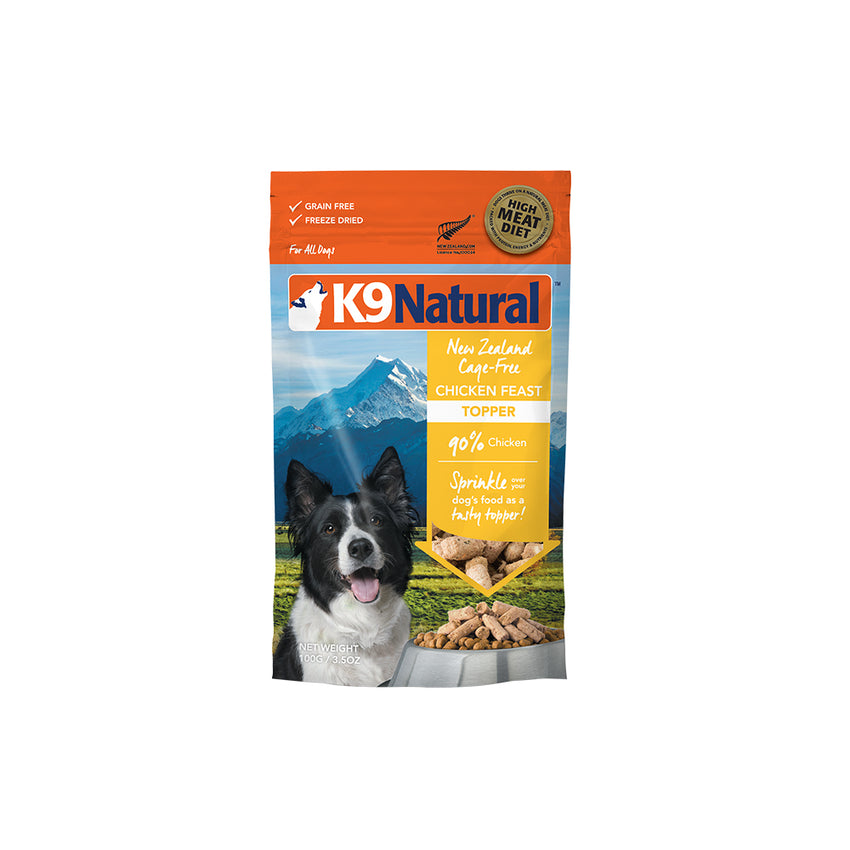 [20% OFF] K9 Natural Freeze Dried Chicken Feast Topper (100g)
