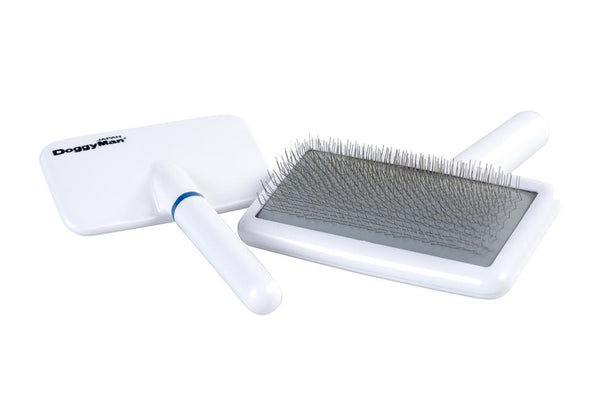 DoggyMan Slicker Brush White Grooming Series