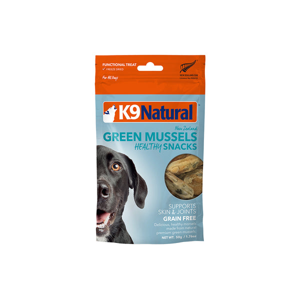 [20% OFF] K9 Natural Freeze Dried NZ Green Mussels Healthy Snack (50g)