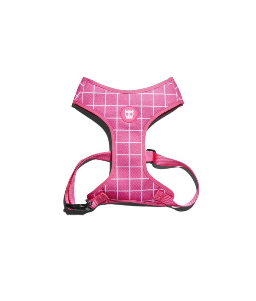 Zee.dog Pink Wave Air Mesh Plus Harness