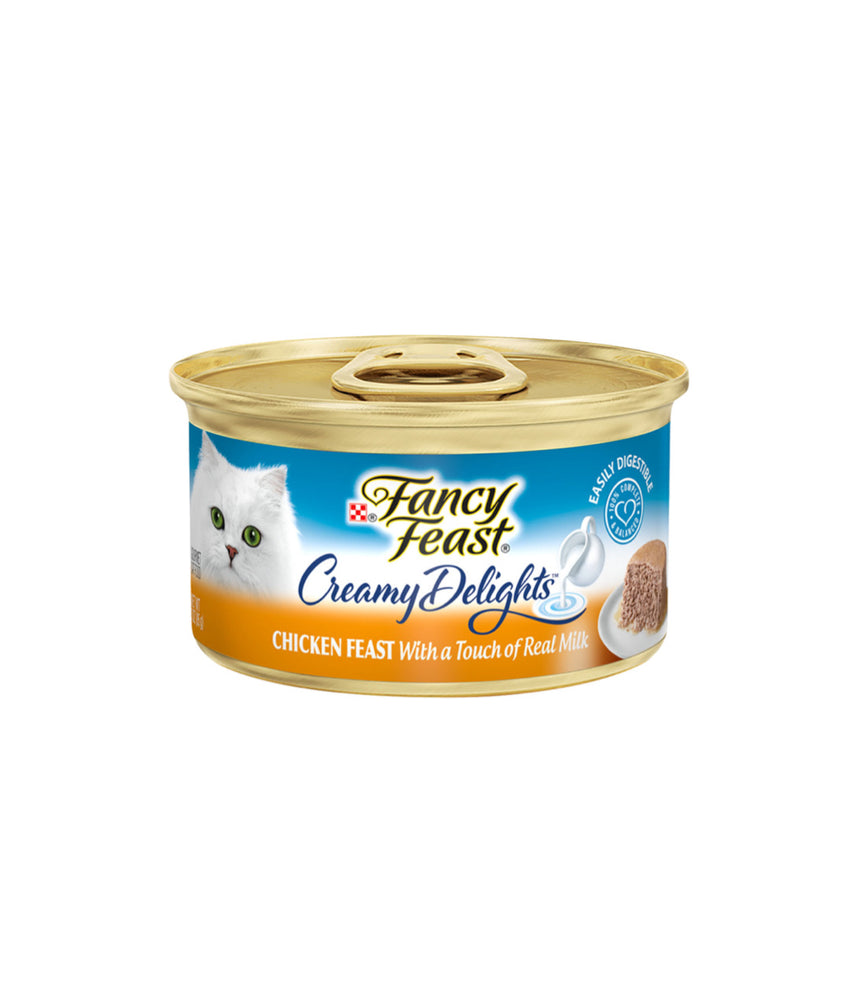 Fancy Feast Creamy Delights Chicken Feast With a Touch of Real Milk (85g)