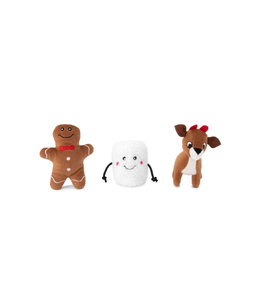 Holiday Miniz - Santa's Friend 3-pack