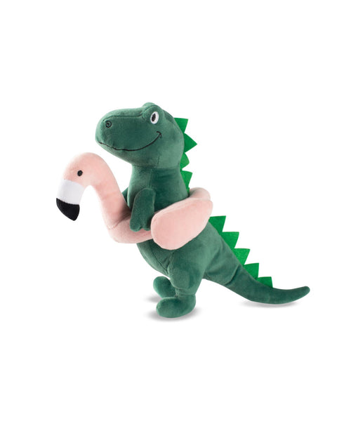 Toy Box Pool Time Rex Squeaky Plush Toy